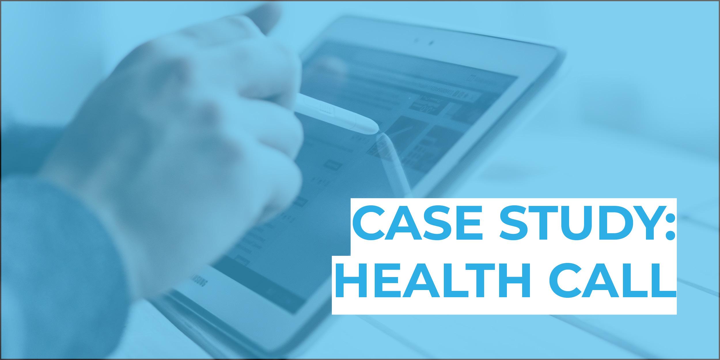 health-call-blue